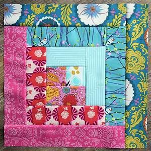 summer log cabin quilt block pattern favequilts