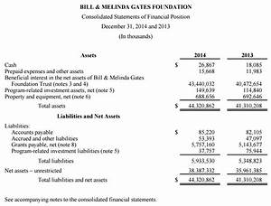 Designing Financial Statements For Non Profits