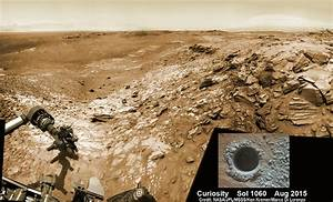 Curiosity snaps belly selfie at Buckskin Mountain base ...