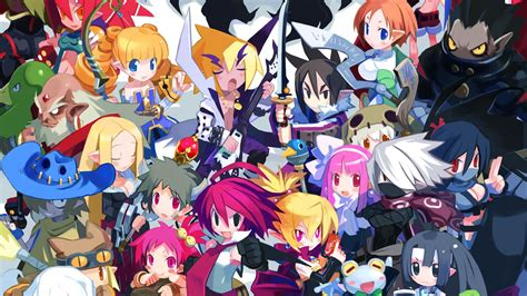 disgaea  wallpapers  ultra hd  gameranx