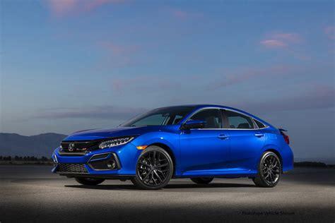 honda presents  civic  sedan  coupe models