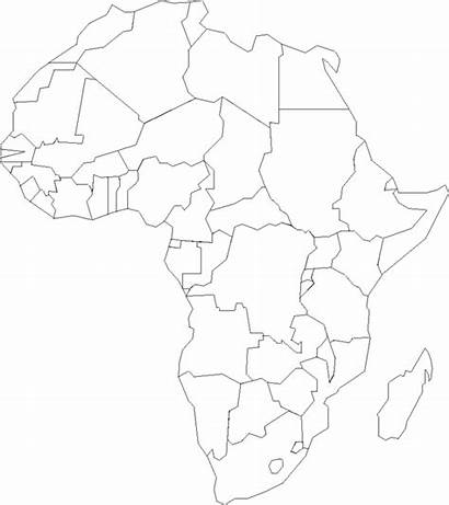 Coloring Africa Continent Printable Maps Continents Popular