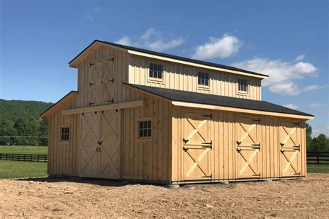 Permalink to Horse Barn Plans With Hay Loft