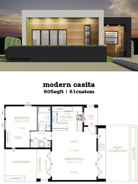 modern two bedroom house plans this 805sqft 1 bedroom 1 bath modern house plan works 19289 | bc78ba5d08314bdda6b057e11fef8c93 small modern house plans bedroom house plans