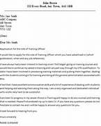 Training Officer Cover Letter Example Training Coordinator Cover Letter Training Coordinator Cover Letter Example Training Coordinator Resume Resume Cover Letter