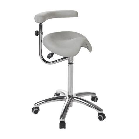 tabouret bureau ergonomique tabouret ergonomique avec dossier base chromée s 5673 avec