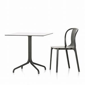 Bistrotisch Und Stühle : belleville bistrotisch von vitra bei ~ Michelbontemps.com Haus und Dekorationen
