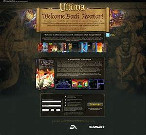 Ultima Forever a hidden Ultima legacy site by EA in the ...