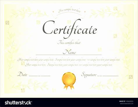 sample certificate  completion sampletemplatess