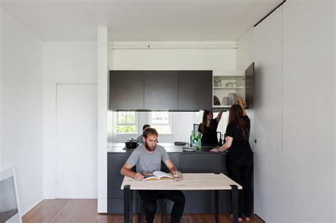minimalist  city micro apartment  smart
