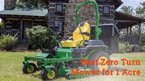 turn mower zero acre mowers comment leave