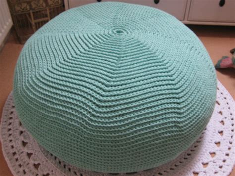 knitted ottomans 18 knit pouf patterns guide patterns