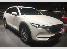 Japanonly Mazda CX8 SUV revealed in Tokyo Auto Express