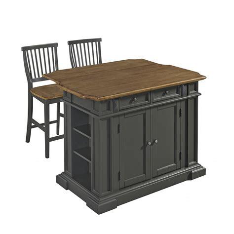 stools kitchen island americana kitchen island with 2 stools homestyles