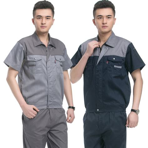 hotel uniform summer  sleeve suit male clothing