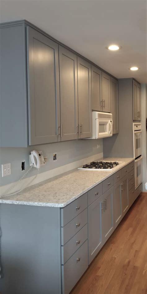 adding  upper cabinets kitchen craftsman geneva