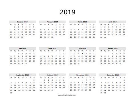 2019 calendar template word 2019 calendar word printable calendar template