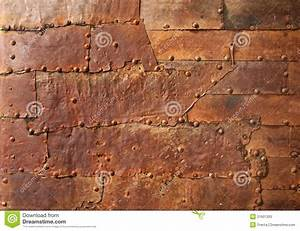 Rusty Metal Texture With Rivets Stock Photos - Image: 31601393