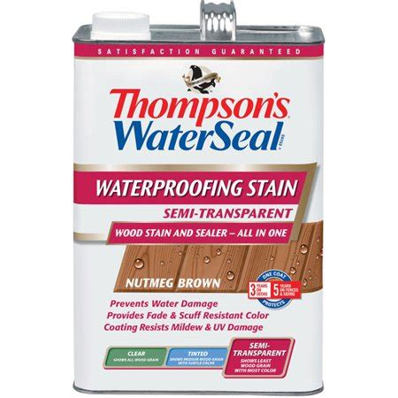 thompson  waterseal thompson brown semi trans stain