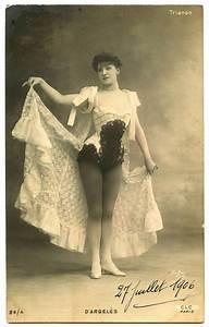 Fun, Vintage, Showgirl, Image, -, Paris