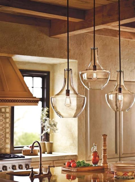 glass pendant lights wrapping elegant interior designs