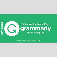 Check Spelling And Grammar With Free Google Chrome Extension