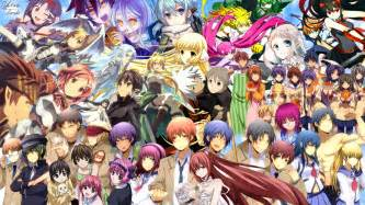 Anime Collage Wallpaper - crossover hd wallpaper background image 1920x1080 id