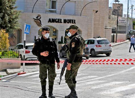 Americans stuck inside Bethlehem hotel after area put on ...
