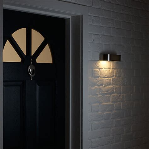 buy nordlux arc outdoor wall light stainless steel john
