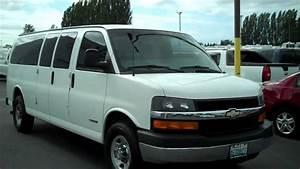 2004 Chevy 3500 15 Passanger Express Van