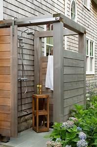 Sandy House- Outdoor Shower - Stile Marinaro