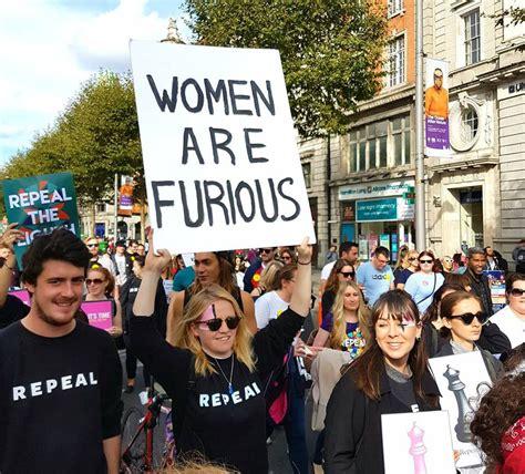 How a Feminist Movement Changed Ireland   by Taryn De Vere   Athena Talks   Medium