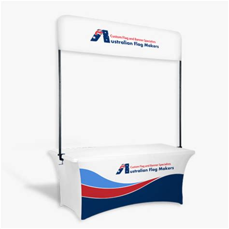 table top banner display table top banner custom flags and banners by australian