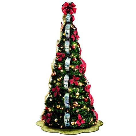pull up christmas tree with lights pre lit pull up christmas trees for funk 39 n simplicity