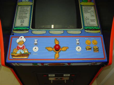 Burgertime Videogame By Bally Midway