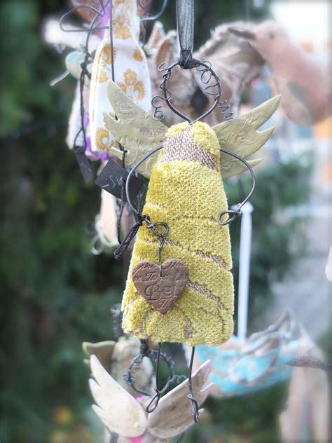 Weihnachtsbaum Aus Draht by Aus Draht Und Stoff Weihnachten Engel Basteln Engel
