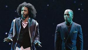 """Hamilton"" Stars Daveed Diggs And Leslie Odom Jr. Perform ..."