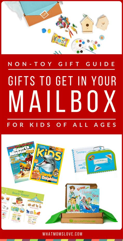 gift a magazine subscription non toy gift guide gifts to receive in your mailbox what moms love
