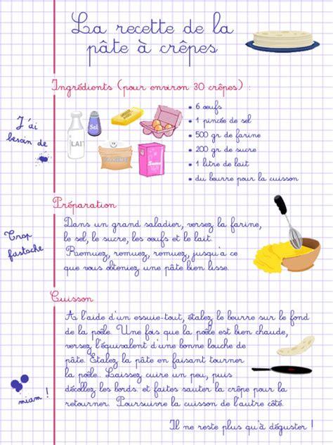recette illustrée la pâte à crêpes suivez moi sur mon