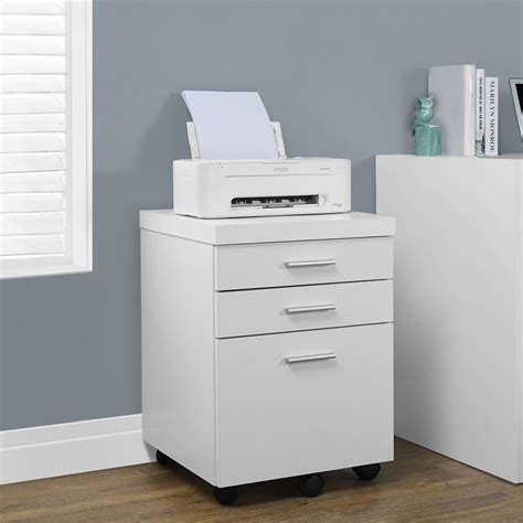 mobile file cabinet monarch specialties i 70 3 drawer mobile file cabinet