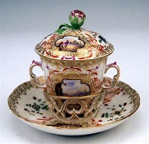 Kpm Porzellan Antik : kpm berlin deckel tasse trembleuse watteau bildmalereien ~ Michelbontemps.com Haus und Dekorationen