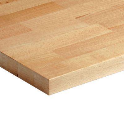 largeur plan de travail plan de travail bois h 234 tre massif 200 x 65 cm 233 p 26 mm vendu 224 la pi 232 ce castorama