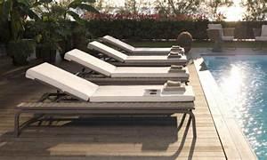 meubles design la collection portofino par roberti rattan With mobilier de piscine design