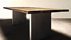 Designer Esstisch Holz : designer esstisch holz gebraucht hauptdesign ~ Markanthonyermac.com Haus und Dekorationen