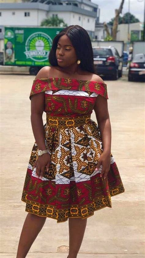 Ankara Gowns Sown And Designed On Higher Grounds For