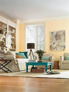 Wandfarbe Für Wohnzimmer : gelbe wandfarbe f rs wohnzimmer wohnzimmer streichen 106 inspirierende ideen janas zimmer ~ One.caynefoto.club Haus und Dekorationen