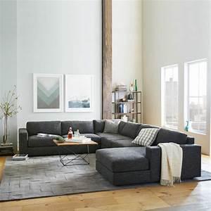 salon avec canap gris best deco salon canape gris design With tapis persan avec canape gris moderne