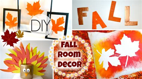 autumn diy diy fall room decorations for cheap youtube