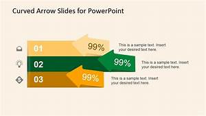 Curved Arrow Slides For Powerpoint