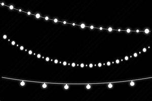 Winter, White, String, U0026, Fairy, Lights, Clip, Art, Christmas
